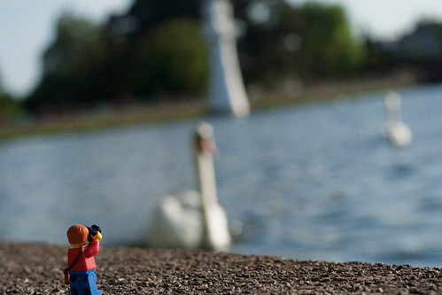 Having a little fun with a lego photographer around Roath park in Cardiff.