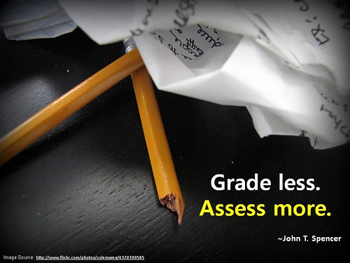 Grade Less. Assess More.