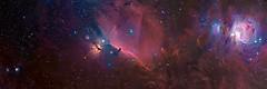 [フリー画像] 自然・風景, 天体・宇宙, 銀河・星雲, パノラマ, 201012012300