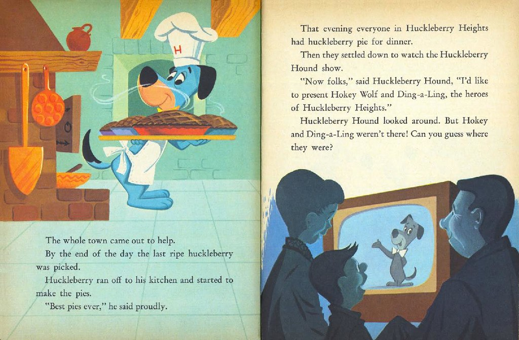 Hokey Wolf & Ding-a-Ling Featuring Huckleberry Hound013