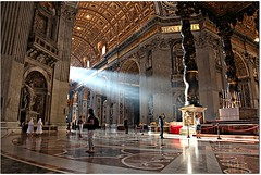 St. Peter's Basilica / Baslica de So Pedro - Cidade do Vaticano (Francisco Arago) Tags: people sculpture sun church monument horizontal arquitetura architecture sunrise reflections raios photography pessoas day ray arch colours photographer floor cathedral monumento interior details capital esculturas catedral indoor dia structure ceiling escultura vaticano igreja catholicchurch rays reflexos sunbeam fotgrafo sunbeams esttua turistas freiras arcos teto stpetersbasilica vaticancity piso beautifulday colorido basilicadisanpietro cristianismo raiosdesol catholiccathedral colunas estrutura mrmore raiodesol obraprima canonef24105mmf4lis obradearte igrejacatlica mrmores pontoturstico cidadedovaticano religo canoneos5dmarkii velhomundo basilicasanc
