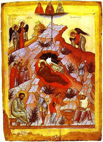 15 russian icon  nativity of