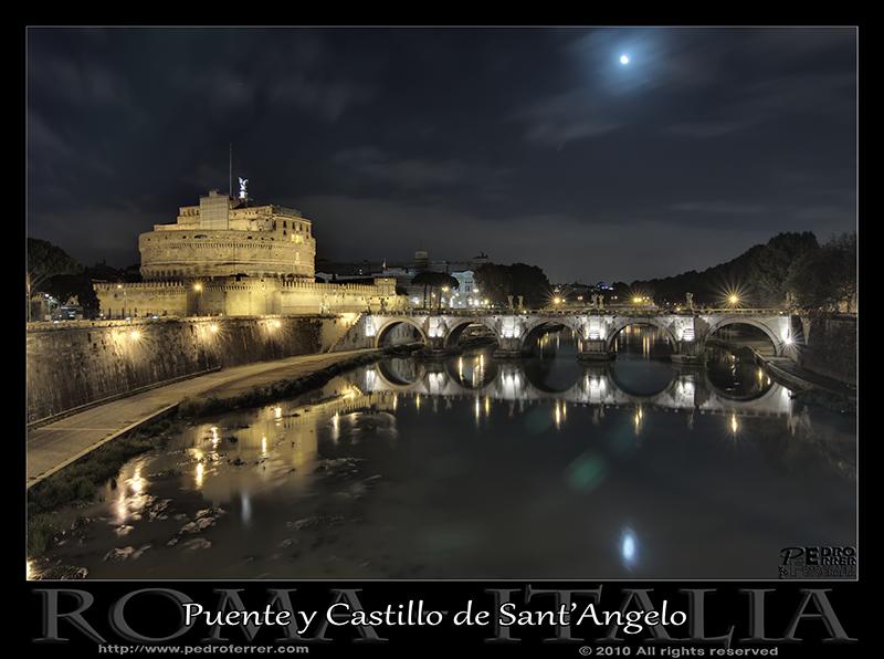 Roma - Puente y Castillo de San't Angelo