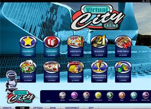 Virtual City Casino Lobby