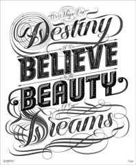 Dreams (Brett Jordan) Tags: typography type 2010 ilt brettjordan ilovetypography december2010 johnboardley