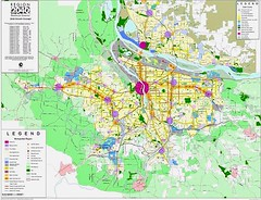 map of the 2040 Regional Plan (by: Portland Metro via American Planning Assn, WA chapter)