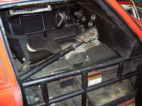 1972 Datsun 510 SCCA Race Car Project For Sale Interior - a