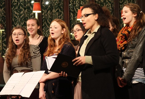 2010 Christmas concert Queens college choir