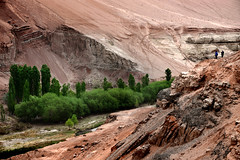 Valley (MelindaChan ^..^) Tags: turpan xingjiang china 新疆 吐鲁番 clay buildings art chinese house chanmelmel mel melinda melindachan life culture mosque valley landform nature flamingmountains 火焰山