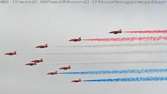 Red Arrows (STAFF.PAUL) Tags: raf redarrows plane airshow beach wales outside canon canon7d canonl100400 thisphotorocks