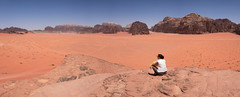 Wadi Rum Panorama (JoshyWindsor) Tags: landscape desert travel fujinonxf1855mmf2840 panorama jordan fujifilmxt10 leoniecollins sandexpanse wadirum