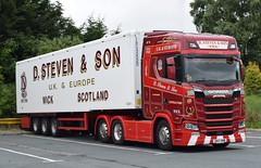 SK17VNB  D Steven & Son, Wick (highlandreiver) Tags: sk17vnb sk17 vnb d steven and son wick scrabster caithness scotland scottish scania s truck lorry wagon haulage freight transport aberdeen bellshill glasgow carlisle cumbria