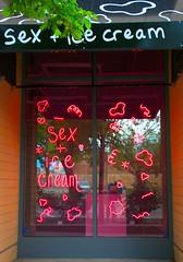 SEX + ICE CREAM