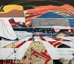 Jim Harris: Sonnewind Ernte. (Jim Harris: Artist.) Tags: art lartabstrait abstract abstrakt konst maalaus taide jim harris painting technology technik space cosmos zeitgenössische contemporary peinture avantgarde mfa