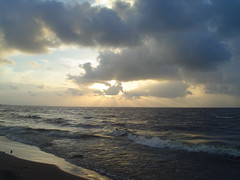 playa (Lorena Chabl) Tags: sky yesterday beah