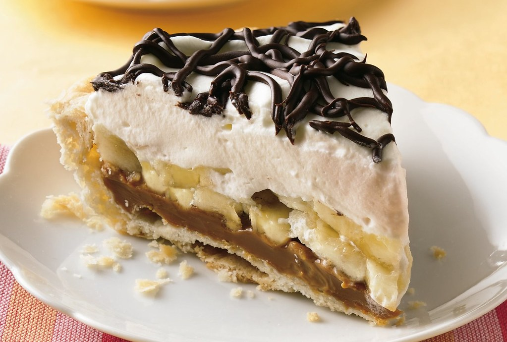 Dulce de Leche-Banana Pie Recipe