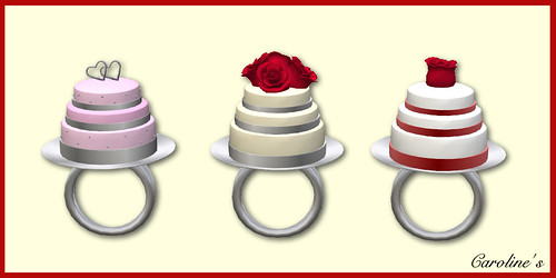 Cake Rings by Caroline