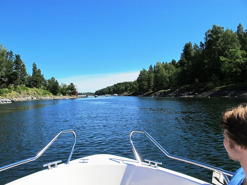 Summer boating on the Oslo Fjord #14