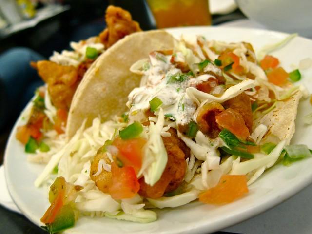 Shrimp Tacos - Ricky's Fish Tacos