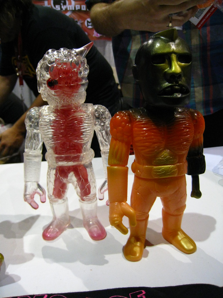 MonstreHero at SDCC 2010