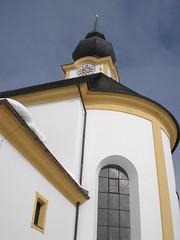 Church spire, Soll (stevenhoneyman) Tags: foothills mountain snow ski alps church austria europe skiing spire alpine kaiser osterreich alp tyrol wilder salve hohe welt kufstein soll tyrolean skiwelt solllandl