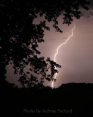 (Aubray Deckard Photography) Tags: sky storm night indiana lightning naturessilhouettes