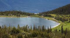 lake in the mountains (eyebex) Tags: lake alaska landscape cabin meadow subalpine upperdeweylake