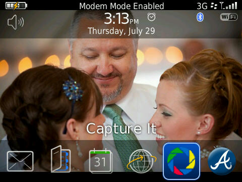 BlackBerry Modem Mode Enabled