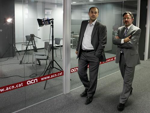 Enric Marín a l'ACN