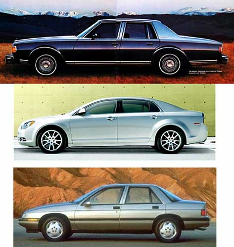 chevrolet sedan design corsica handsome style malibu flowing elegant impala proportion 1977 2010 caprice 2011