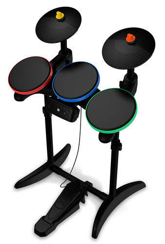 GHWOR PlayStation Drum Controller - Angled