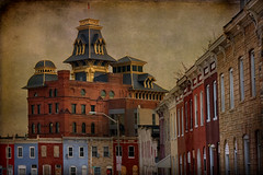 American Brewery - Baltimore (crabsandbeer (Kevin Moore)) Tags: city urban abandoned architecture decay baltimore brewery rowhouse slums americanbrewery