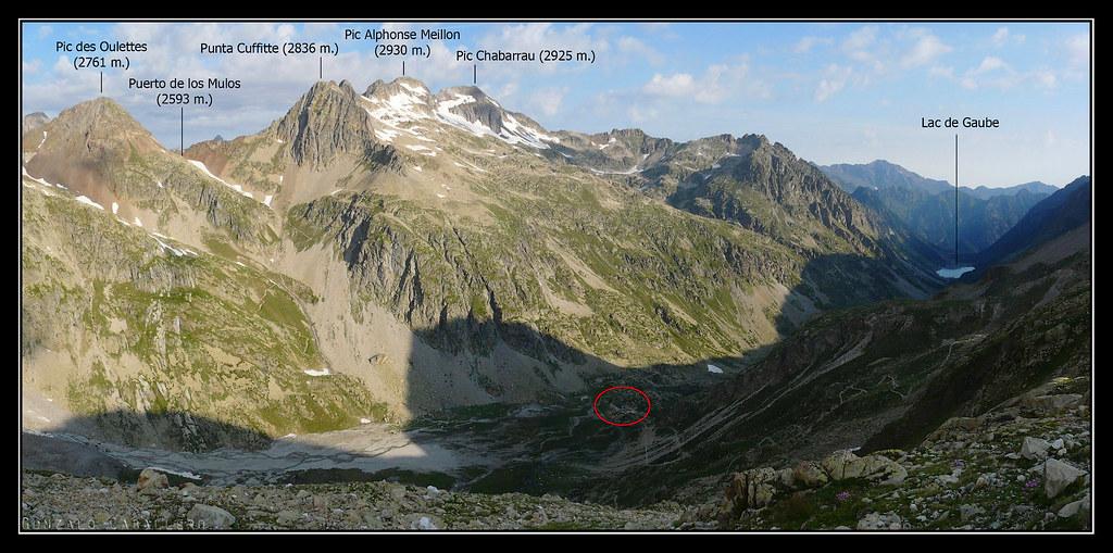 Valle de Gaube desde la subida a la Hourquette d'Ossoue