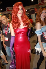 Comic Con 2010: Jessica Rabbit (earthdog) Tags: d50 movie costume nikon dress sandiego cosplay nikond50 whoframedrogerrabbit jessicarabbit comiccon 2010 comicbookconvention sandiegocomiccon moviecostume unknownperson cosplaygirl unknownlens sdcci comiccongirl comiccon2010 upcoming:event=4170510