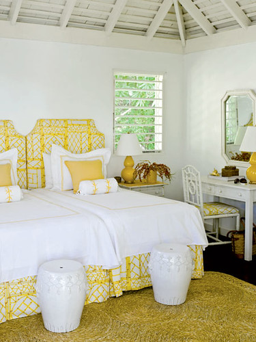 yellow twins via coastal living