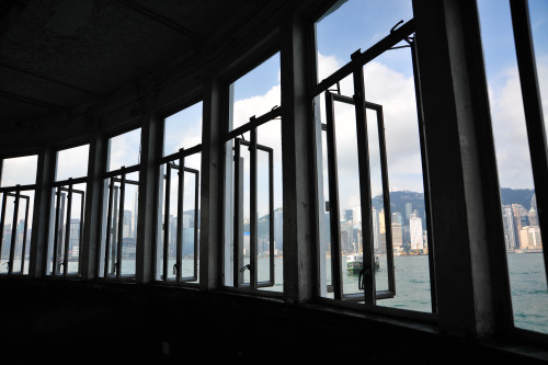 Through windows