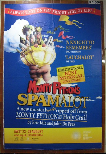 Spamalot is Coming