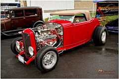 Rainy Day Roadster (Mark O'Grady - Proudly Serving Millions of Viewers) Tags: ford 1932 transportation deuce classiccars hotrods roadster fordmotorcompany automotivephotography collectorcars syracusenationals automobilephotography rightcoastassociation mospeedimages classiccarphotography