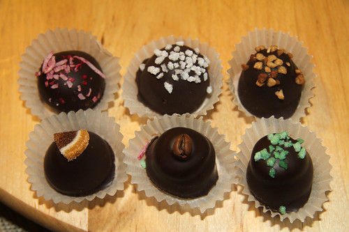 Truffles from The Chocolate Top