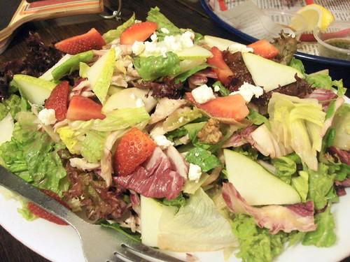 Bubba Gump Shrimp Co - pear n berry salad