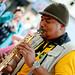 Saxophonist Street Performer