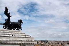 Roman sky (Jasiot) Tags: city italien sky italy panorama rome roma nikon europa europe italia himmel cielo rom italie eternal niebo rzym wochy d40 jasiot