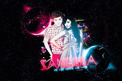 We're Venus and Mars ♥ (Pedro Ks' Gaggo) Tags: pink blue school vanessa azul high space ashley rosa musical v planet electro z punch zac sucker espaço beastly tisdale planetas cs3 efron hudgens galatic zanessa zashley