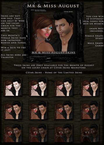 .::CStar::. Mr & Miss August 2010 Skins