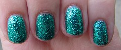 Models Own - Emerald City (AlliMcBally) Tags: blue glitter nailpolish emerald emeraldcity modelsown