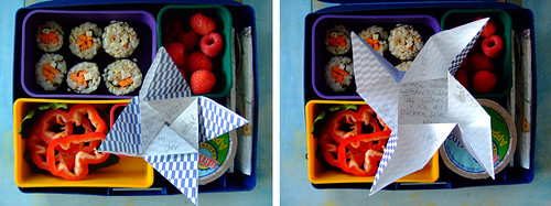 Lunch Box with Notes