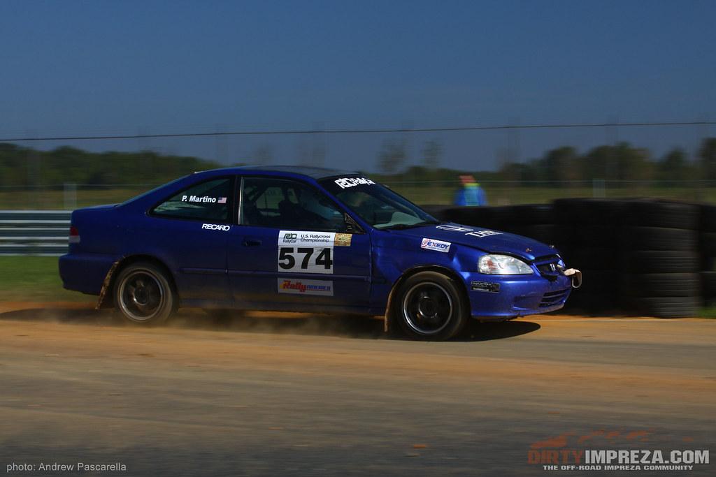 99 Honda Civic Rally Car