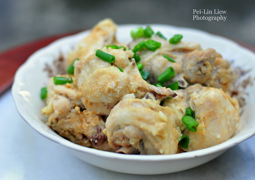 Steamed Chicken With Preserved Tofu 腐乳蒸雞