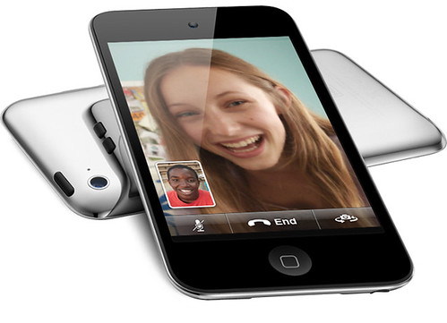 iPod touch users can make FaceTime video calls over Wi-Fi.
