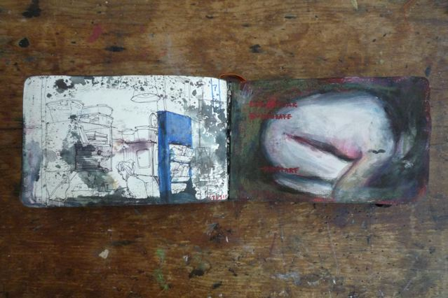 Sketchbook 2010 : Blue Sketchbook - Part 3 (last)
